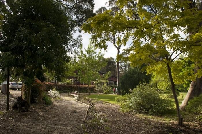 Gardens & walkway