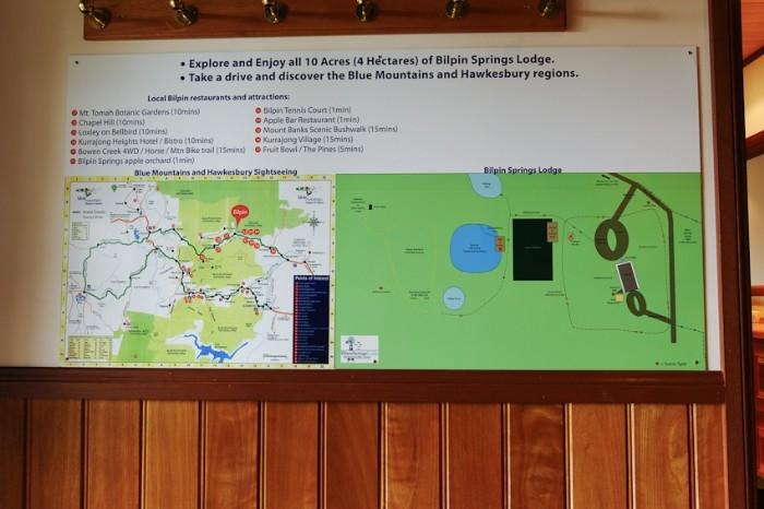 Visitor Info board