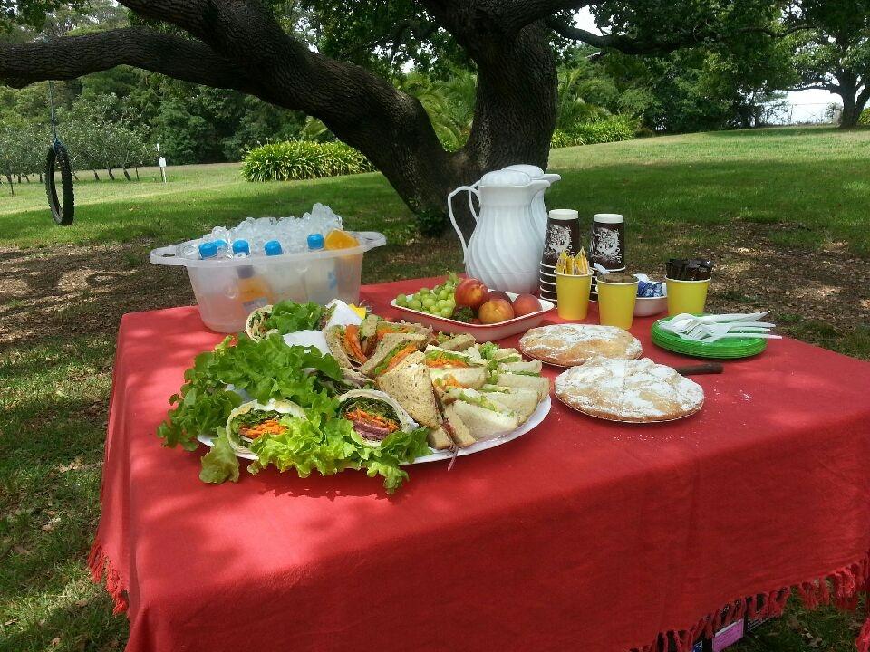 Enjoy a local picnic