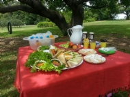 Enjoy a local picnic